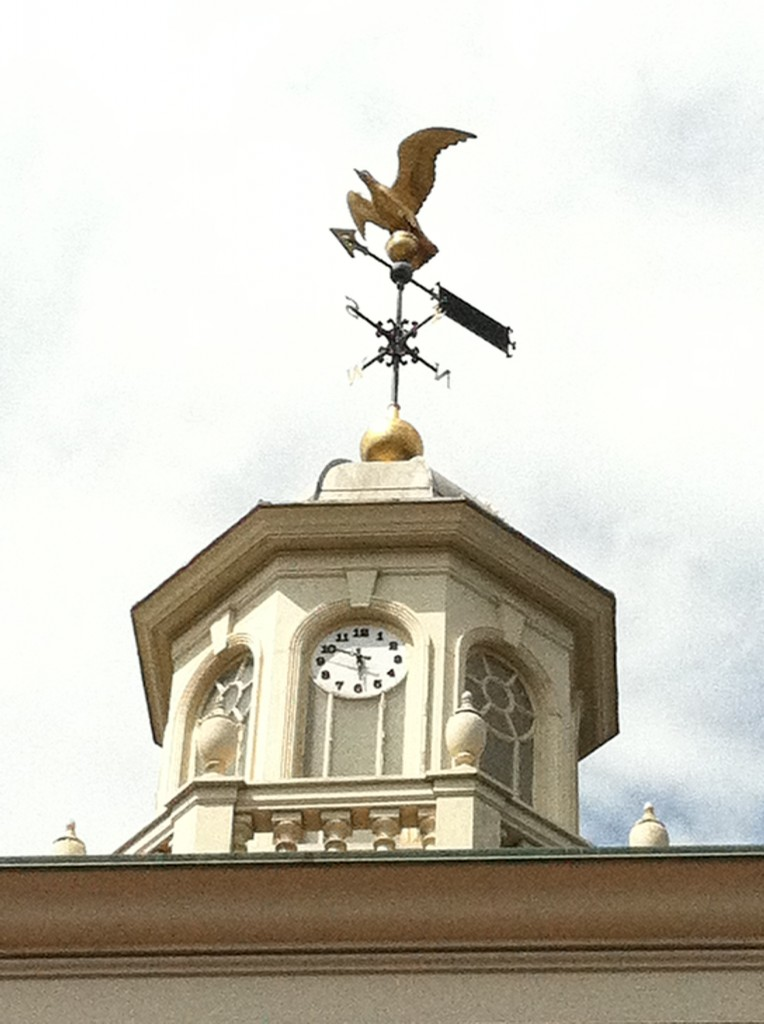 "Do your winds point to the ""P"" for ""Positivity"" on the weather vane?"