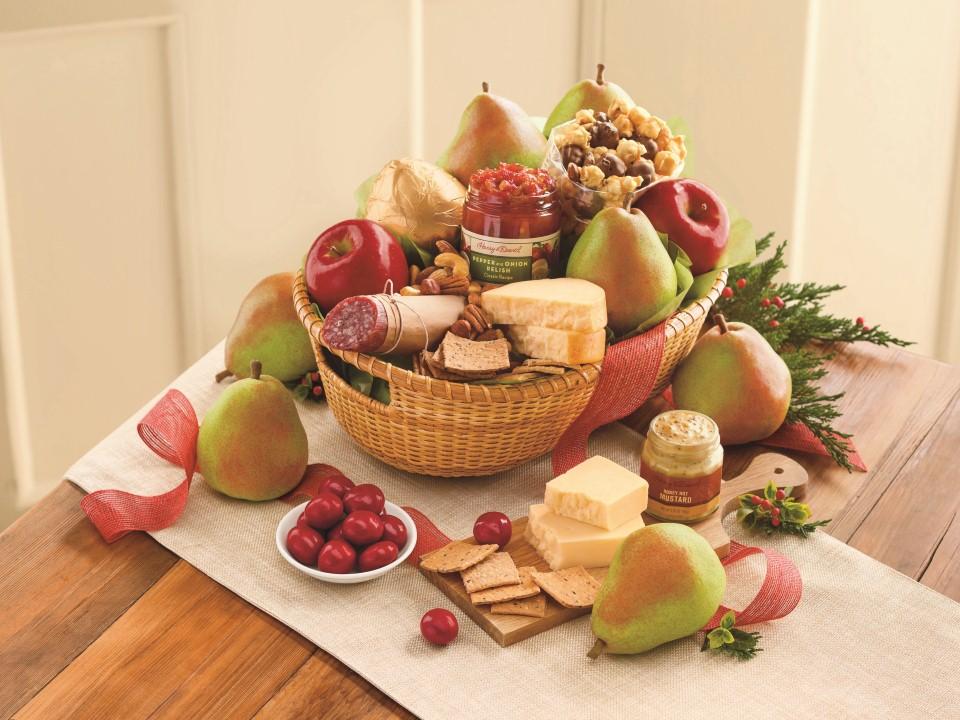 Harry & David is a leading purveyor of premium gift baskets of food & beverage.