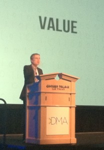 Viktor Mayer-Schonberger was keynote speaker at the NCDM13 conference.