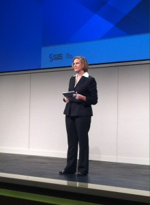 Kecia Serwin, Vice President and General Manager of SAS Health Care & Life Sciences.