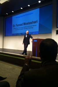 Dr. Farzad Mostashari, Visiting Fellow at Brookings Instituion.