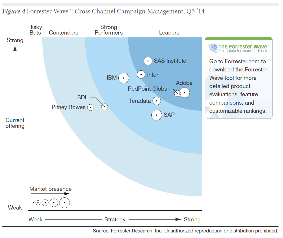 Sas Is A Leader Again In The Forrester Cross Channel