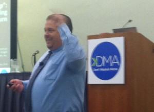 Jim Foreman talking about Analytics.