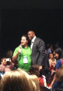 Magic Johnson's outsized personal charisma really shines.