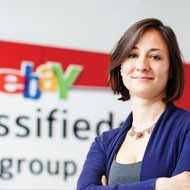 Natasha Zharinova, Head of Strategy and Finance for eBay's Dutch arm, Marktplaats.nl