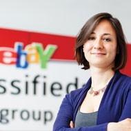 Natasha Zharinova, Head of Strategy and Finance for eBay's Dutch arm, Marktplaats.nl