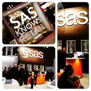 The SAS Booth at Retail's Big Show