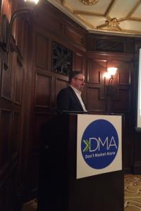 John Balla at the Marketing Analytics Conference.