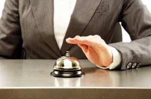 The hotel front desk bell - beginning of a personalized experience?