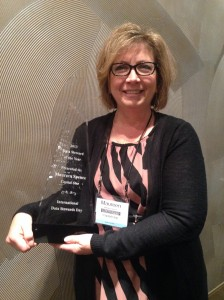 Maureen Spence, 2013 Data Steward of the Year