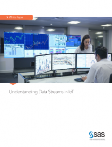 White paper cover for Understanding Data Streams in IoT