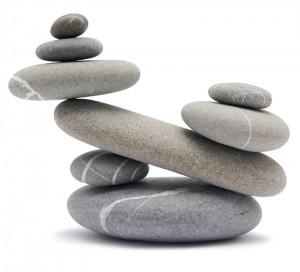 stones represent load balancing and SLAs