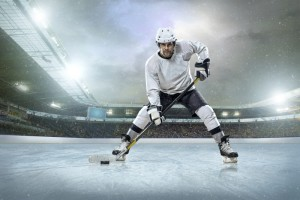 strategy represented by ice hockey player