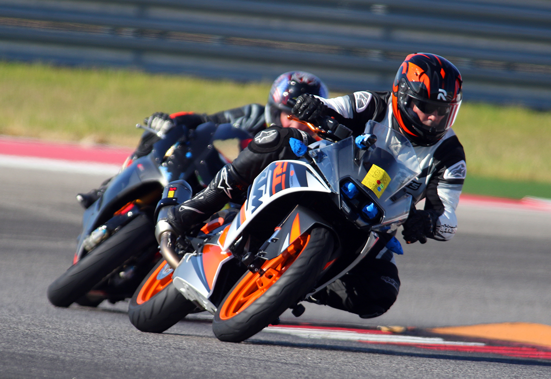 motorcycle racer thinks streaming data