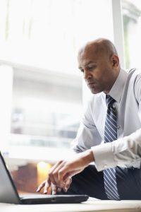man evaluating MDM and Hadoop