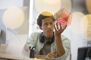 man considers data quality versus data preparation