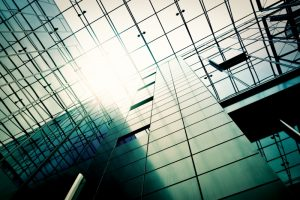 steel of building represents data governance