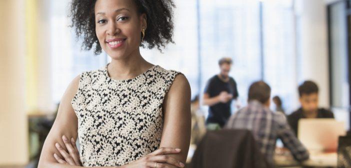 businesswoman ready to start a data compliance framework