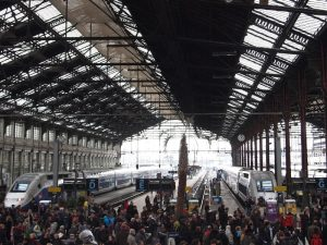 passengers in railway station reflect ethical considerations of event stream processing