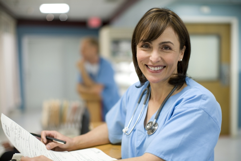 medical professional considering data privacy and compliance