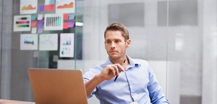 Businessman considers the future of Hadoop
