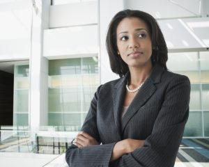 businesswoman considering the transition to Hadoop