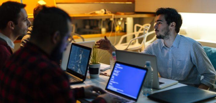 programmers working on big data identity resolution