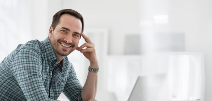 man happy to learn that data management make hadoop easier