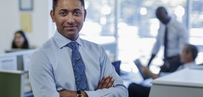 Businessman considers data on demand strategy for different users
