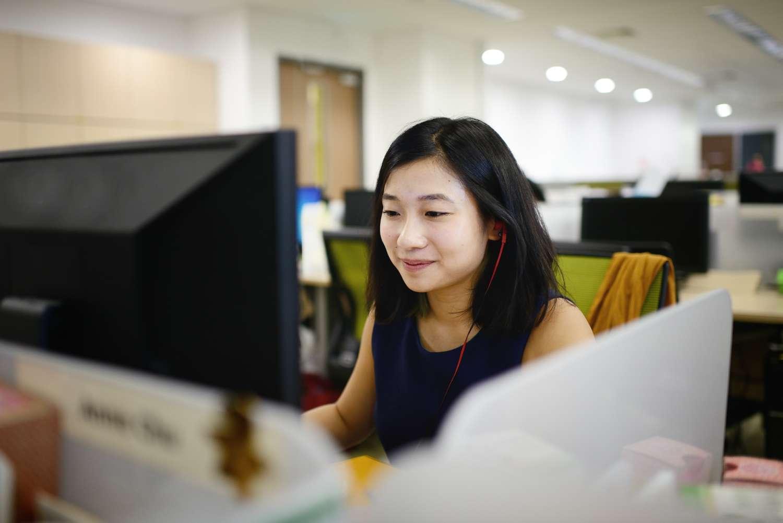Businesswoman ponders data integration challenges
