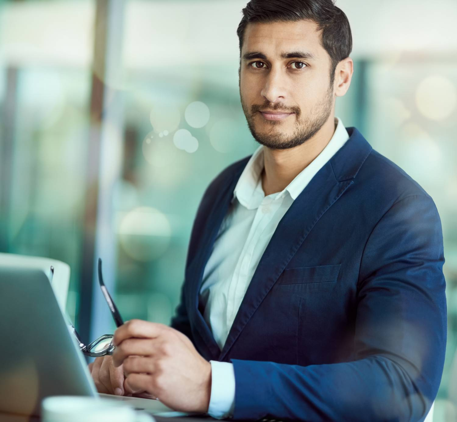 Businessman contemplates which data sources may be retired due to AI