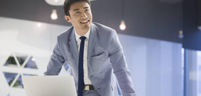 Businessman considers how business glossaries make analytics better