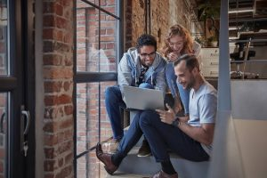 3 people discuss how to prepare data for analytics