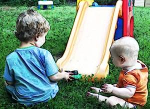 Backyard Boys Water Color Pencil