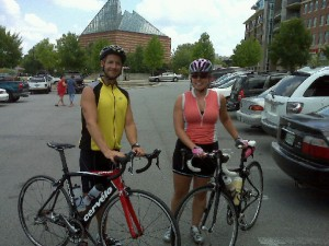 Cycling in Chattanooga