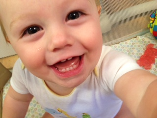 Baby Selfie, Chris Pack, Sept. 2014
