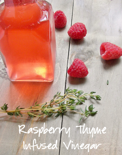 raspberry_thyme_infused_vinegar_