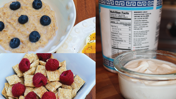 unsweetened yogurt_cereals