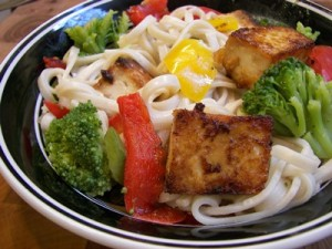pre-exercise-food-tofu-noodles