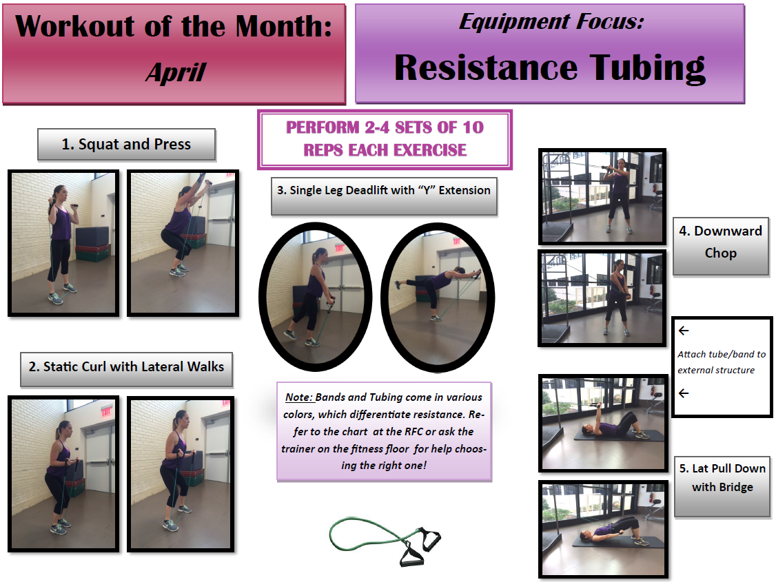 April WOM Resistance Tubing