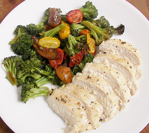 roasted-chicken-tomato-broccoli-
