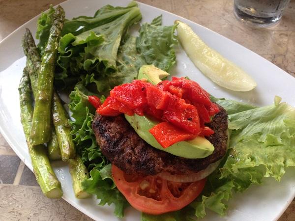 bunless-burger