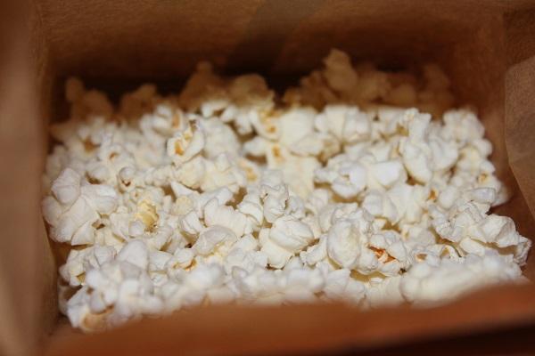 DIY Microwave Popcorn Makes 1 Serving