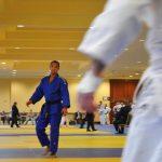 Adnane practicing Judo