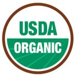 round usda organic certified seal