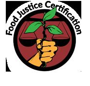 food justice certification logo