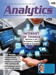 Analytics Magazine Cover