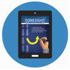 Image of Foresight on tablet