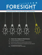 Cover of Foresight 54