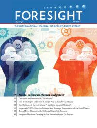 Foresight #63 cover